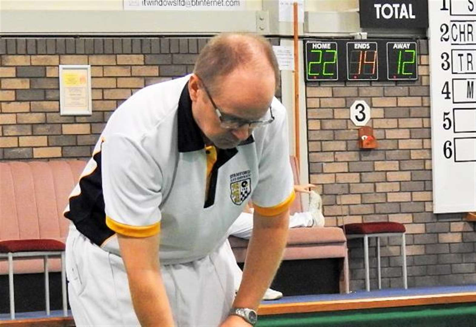 BOWLS: Outstanding victory for Stamford duo over England internationals