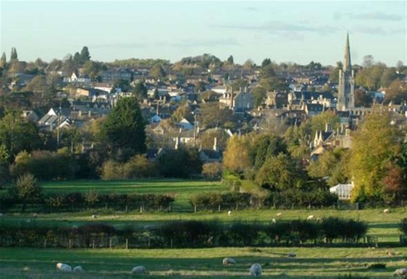 Homes plan would 'ruin iconic town view'
