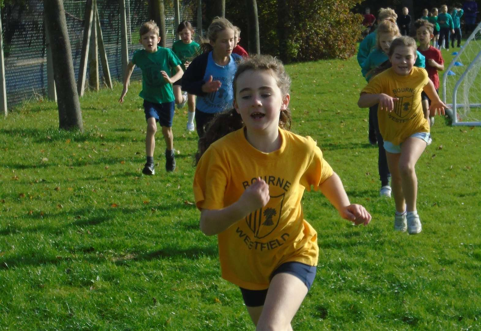 Pupils run to raise money for all-weather running track at school