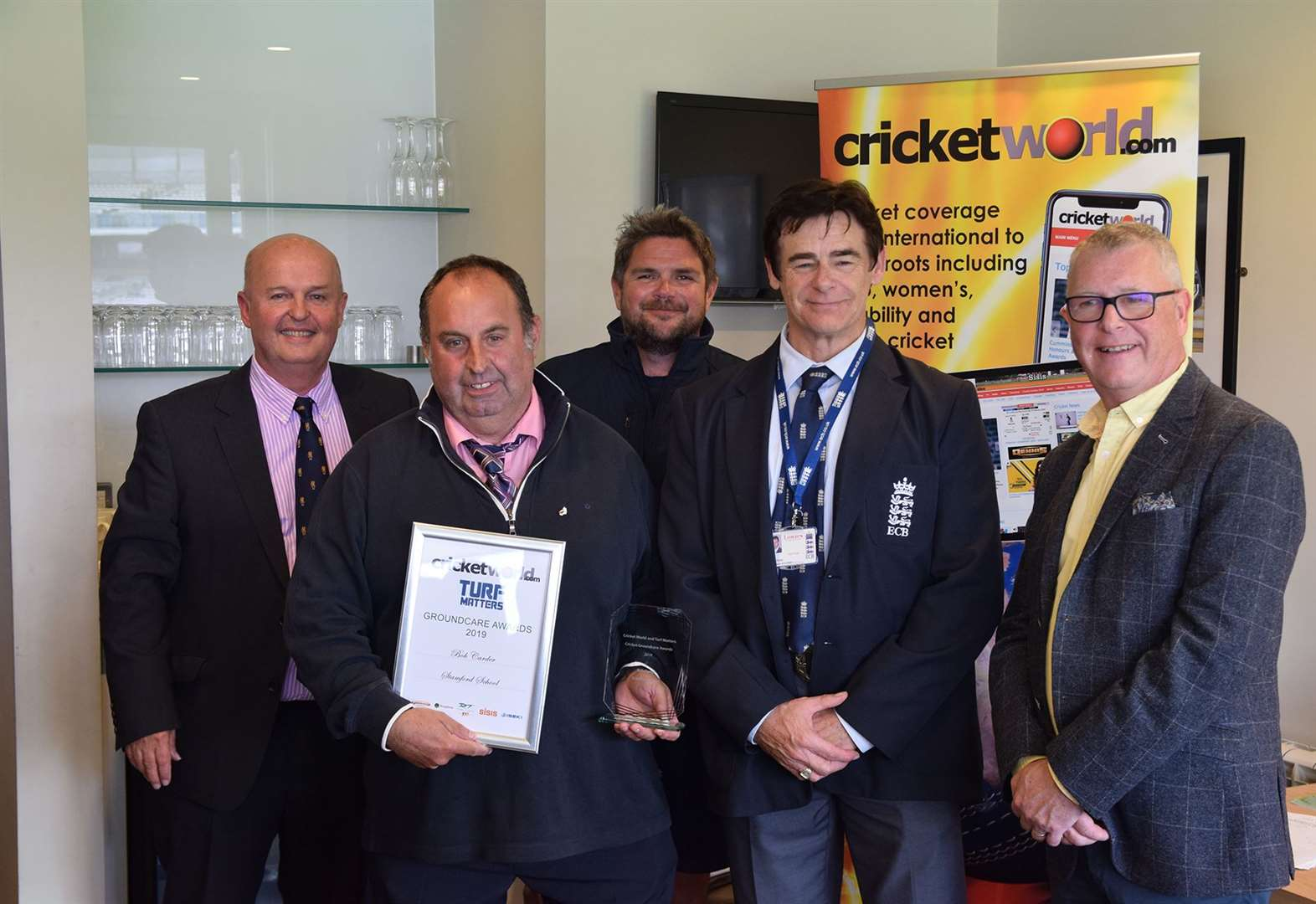 Award for school groundsman and team