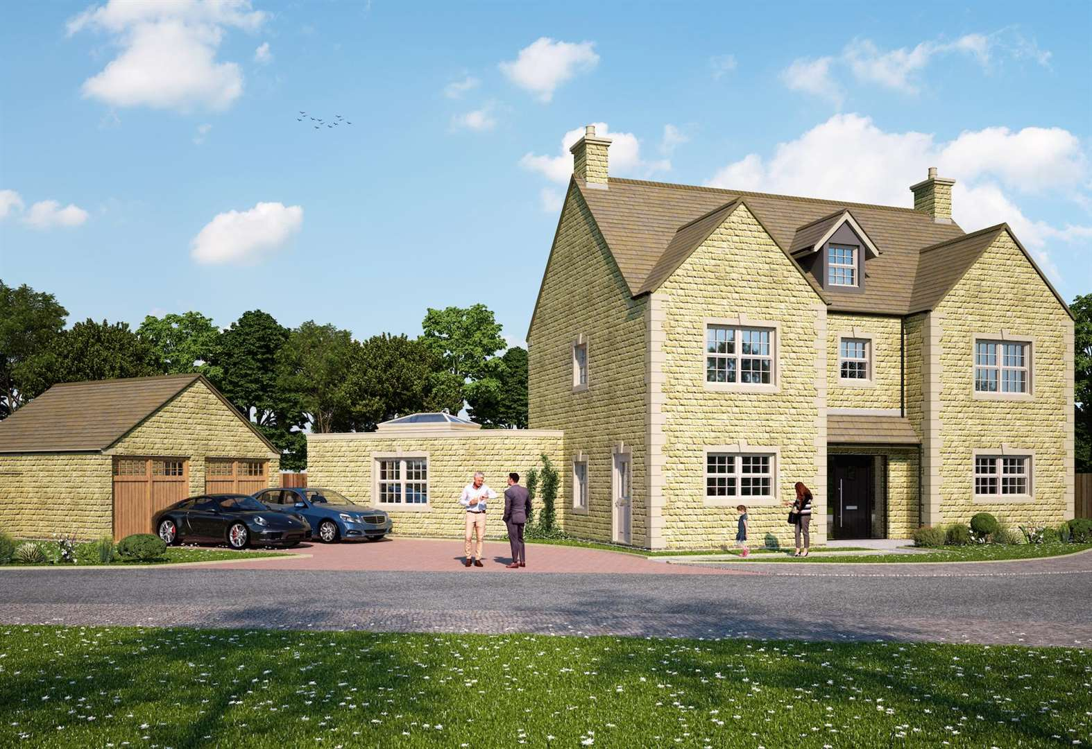 Work starts on £22m housing development in Stamford