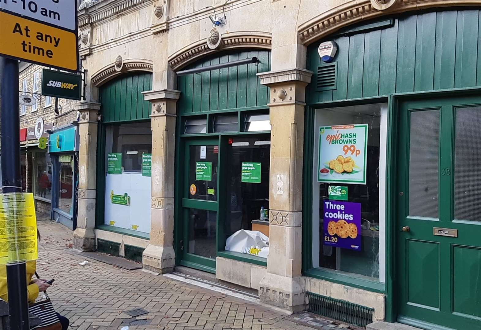 Stamford's Subway branch now re-opening 'before the end of the year'