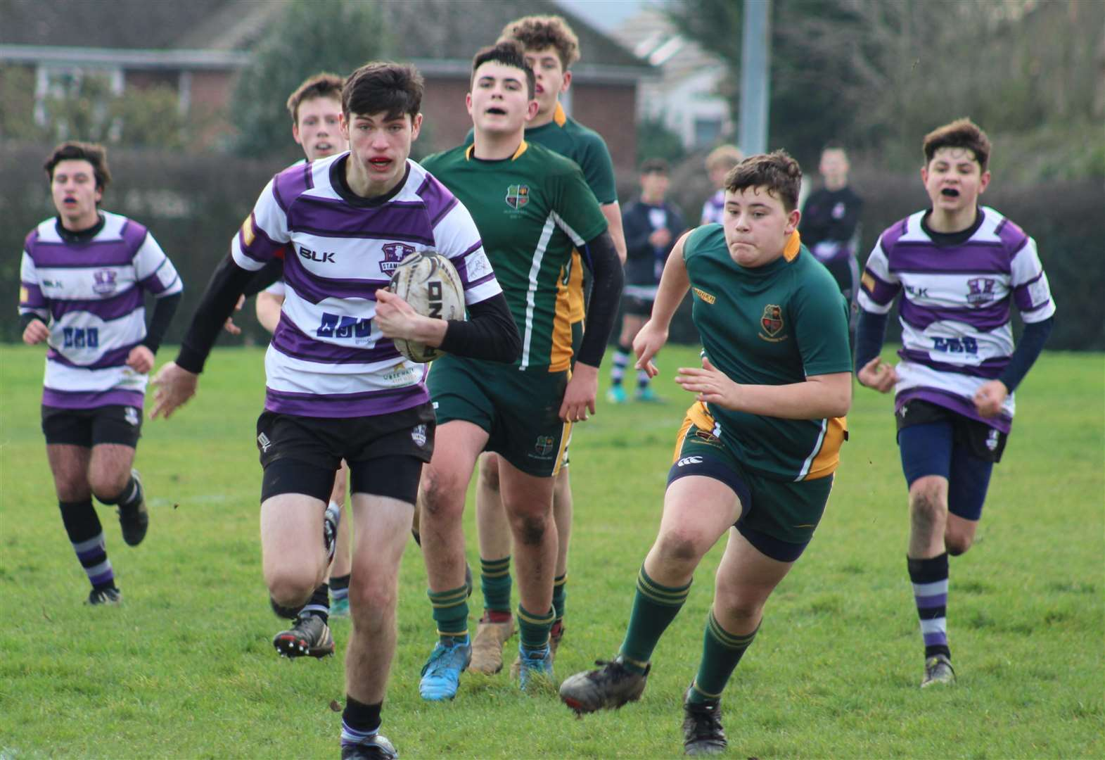 RUGBY UNION: Hard-fought success for Stamford against strong visiting side