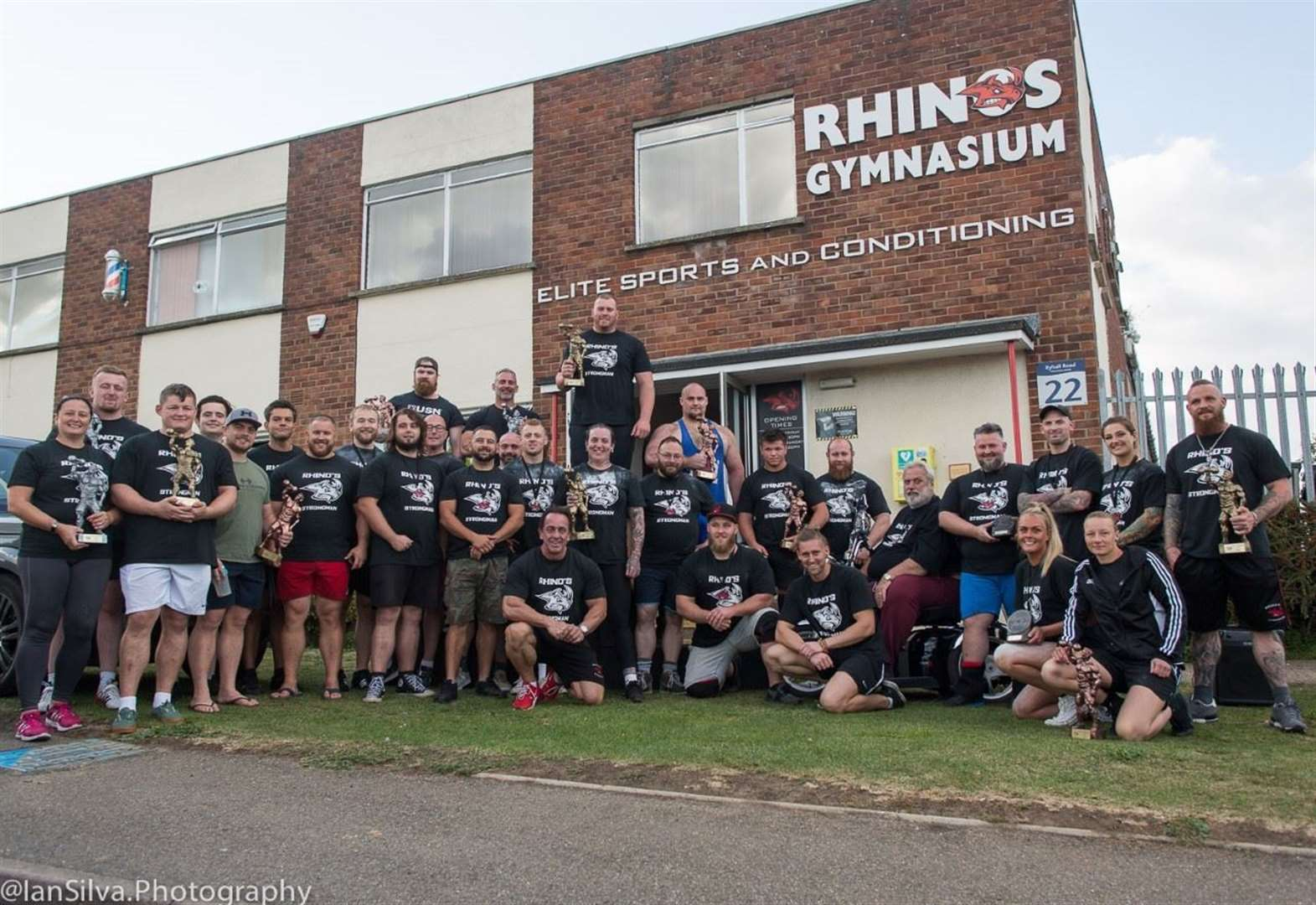 Rhino's Gym in Stamford staged its first Open Strongman Competition
