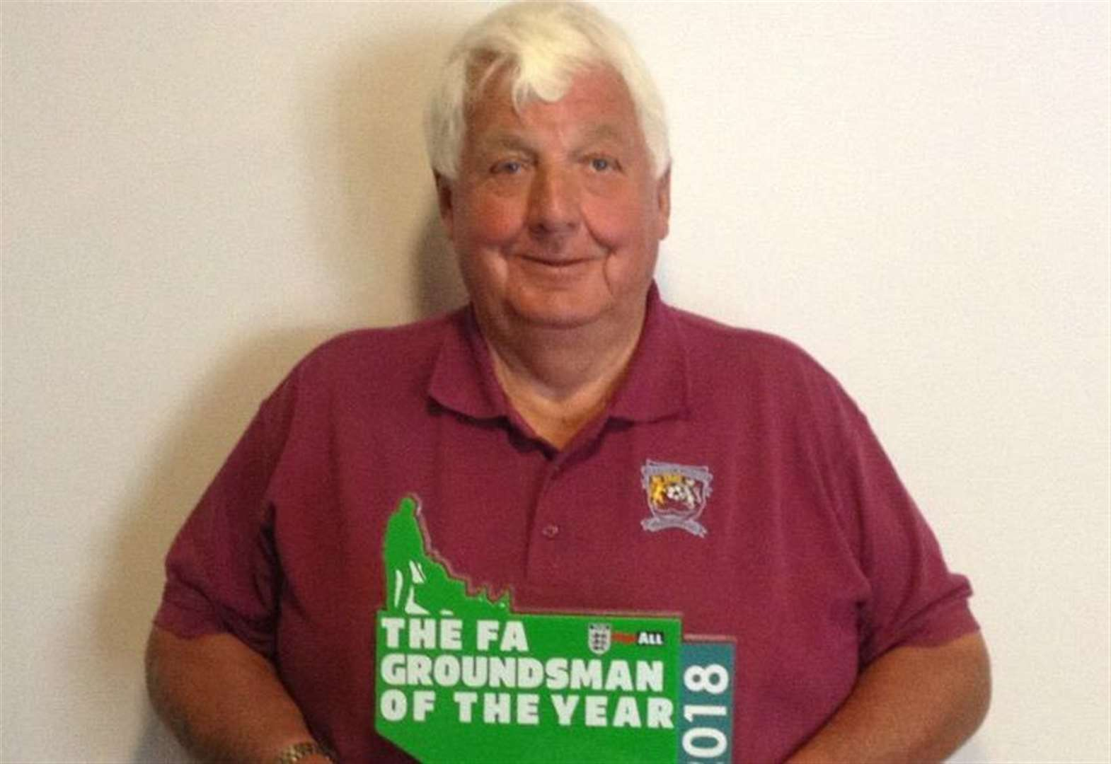 FOOTBALL: National award for Deeping Rangers head groundsman