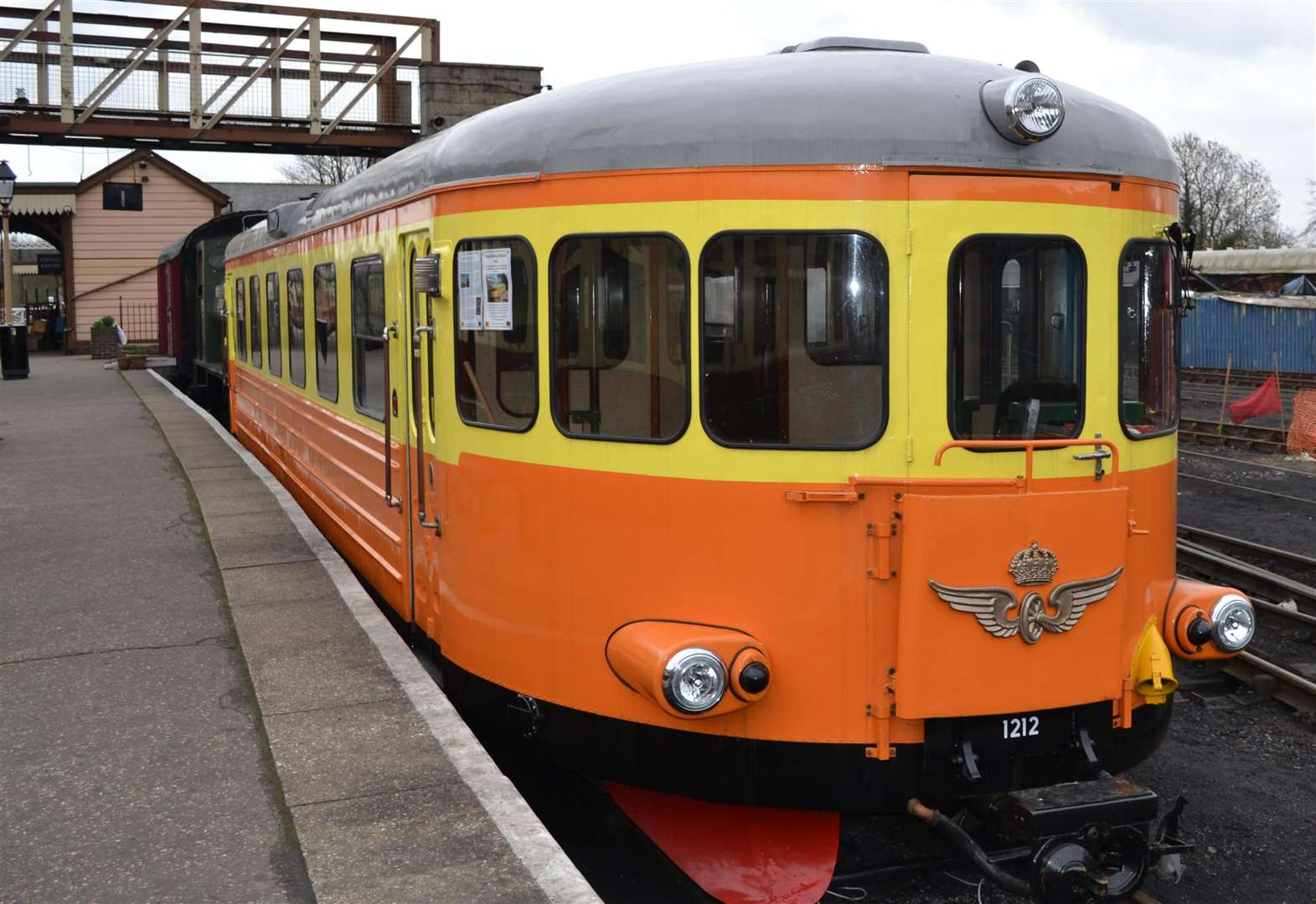 Travel in Swedish style at Nene Valley Railway on Sunday