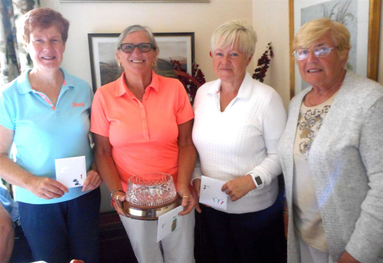Linda continues winning streak to regain trophy at Toft