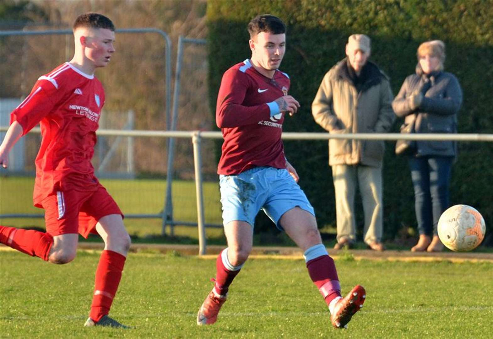 FOOTBALL: Honours even as Clarets held at home