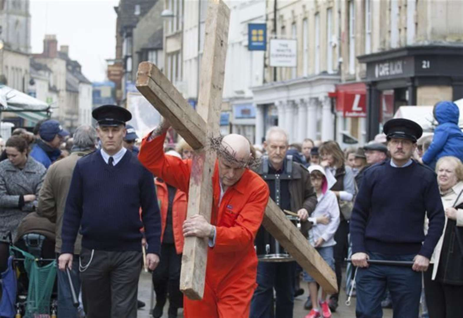 Popular Walk of Witness event to take place in Stamford on Good Friday