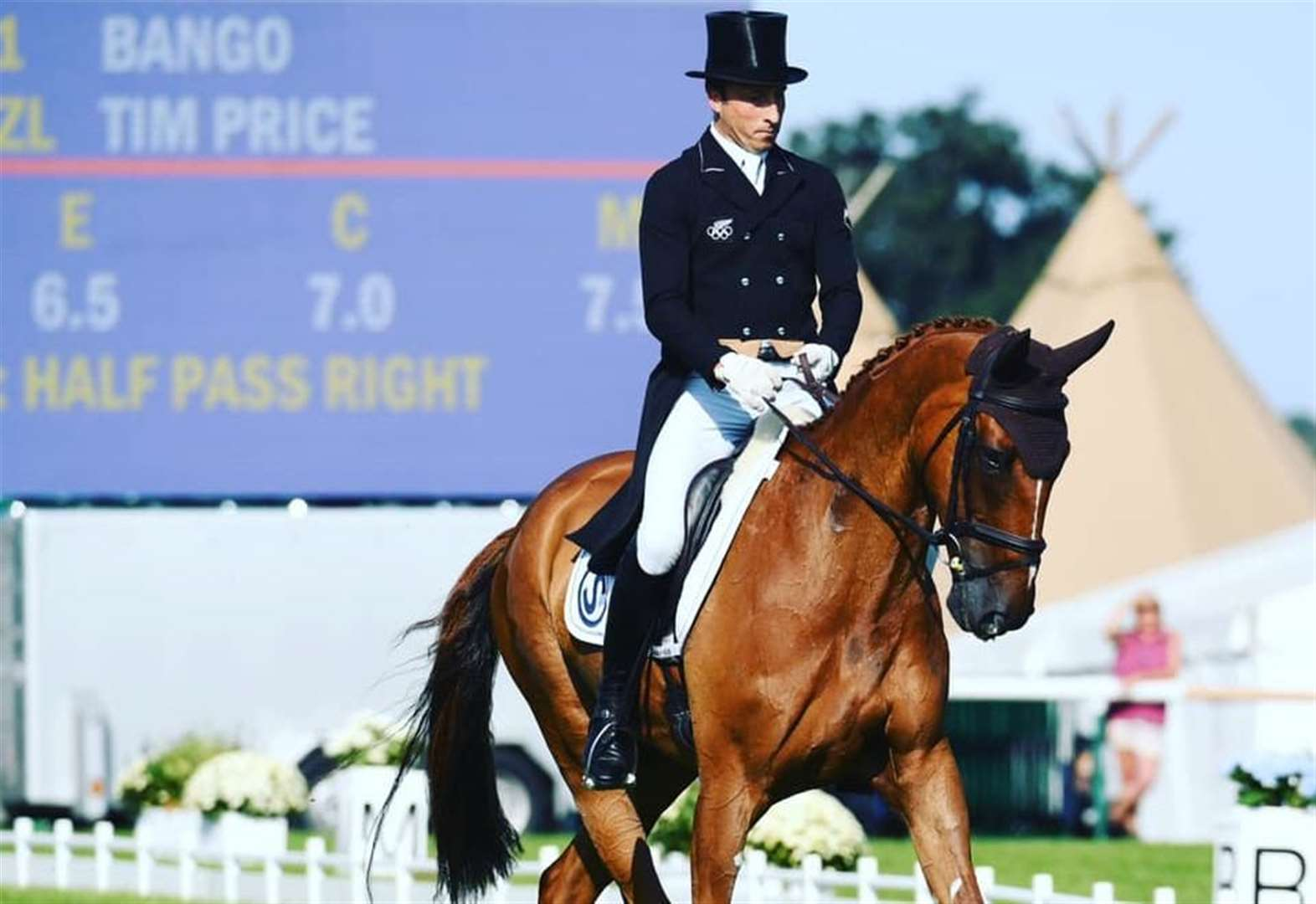 Burghley Horse Trials 2018 winner Tim Price to kick off dressage competition in first day of event at Burghley Houe near Stamford today