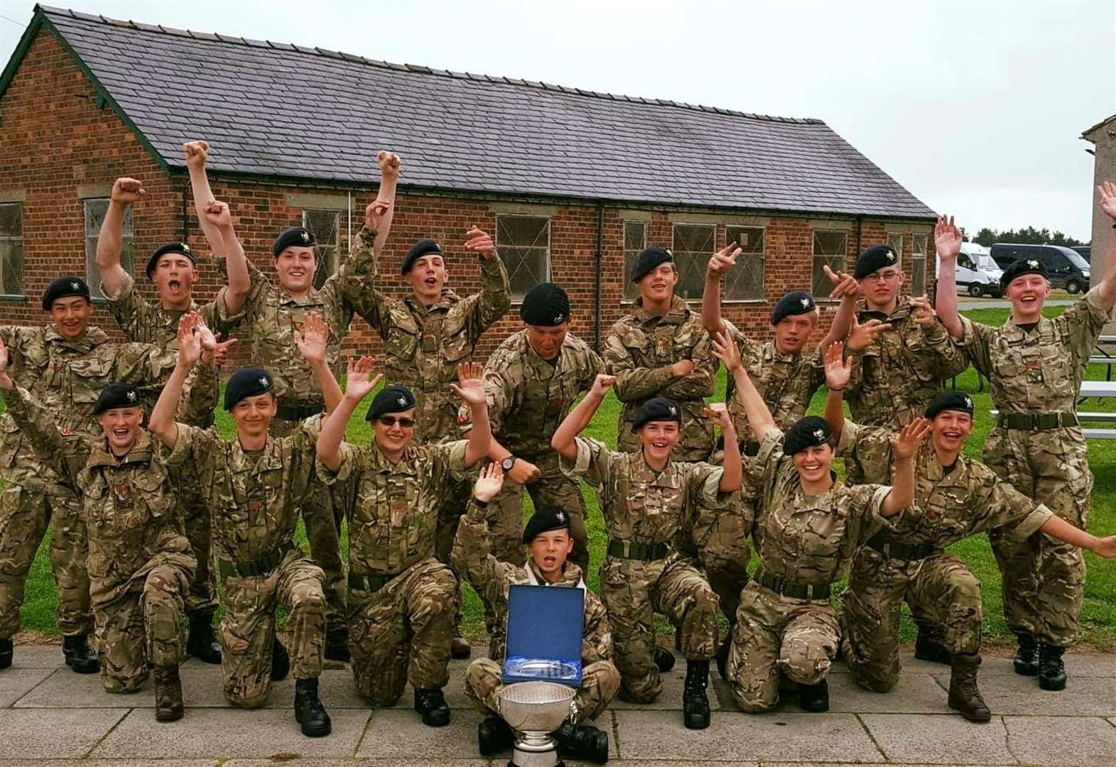 Bourne Cadets win top trophy