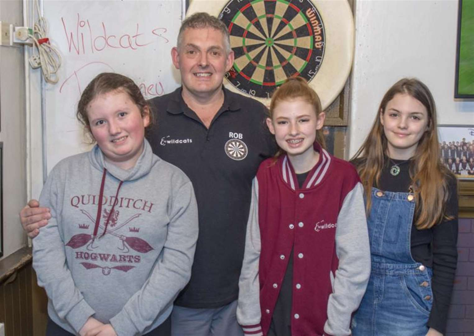 Rob on target to help[ talented Wildcats dance troupe