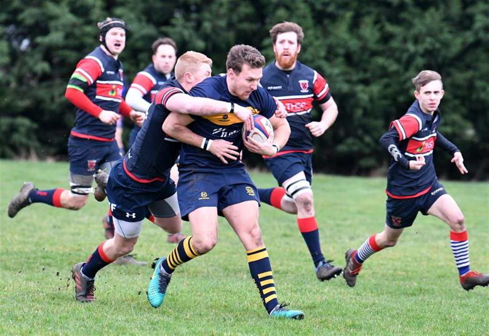RUGBY UNION: Bourne bounce back after slow start to claim crucial success