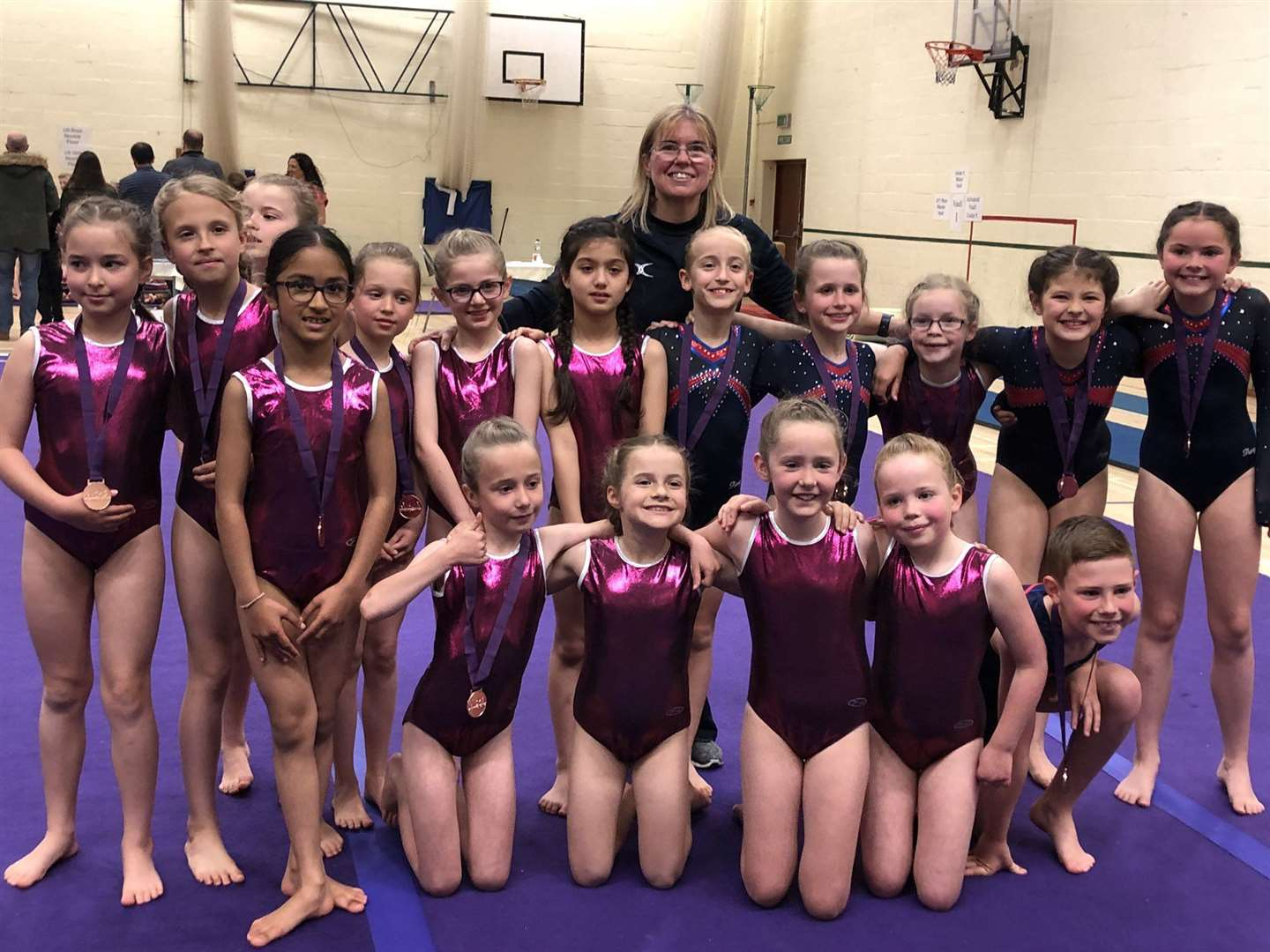 Stamford Endowed Schools' gymnastic squad entered ten teams into the Midlands Independent Schools Gymnastics Championships (MISGA) and picked up a collection of accolades. (9543175)