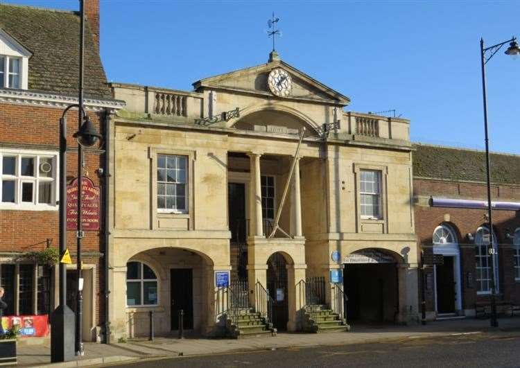 Bourne Town Hall (9100623)