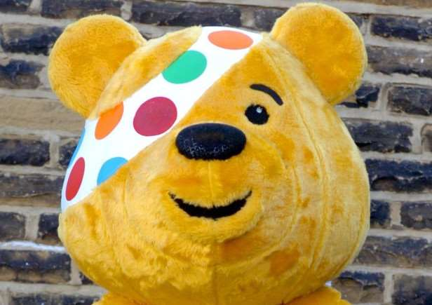 Pudsey Bear all set for Children In Need