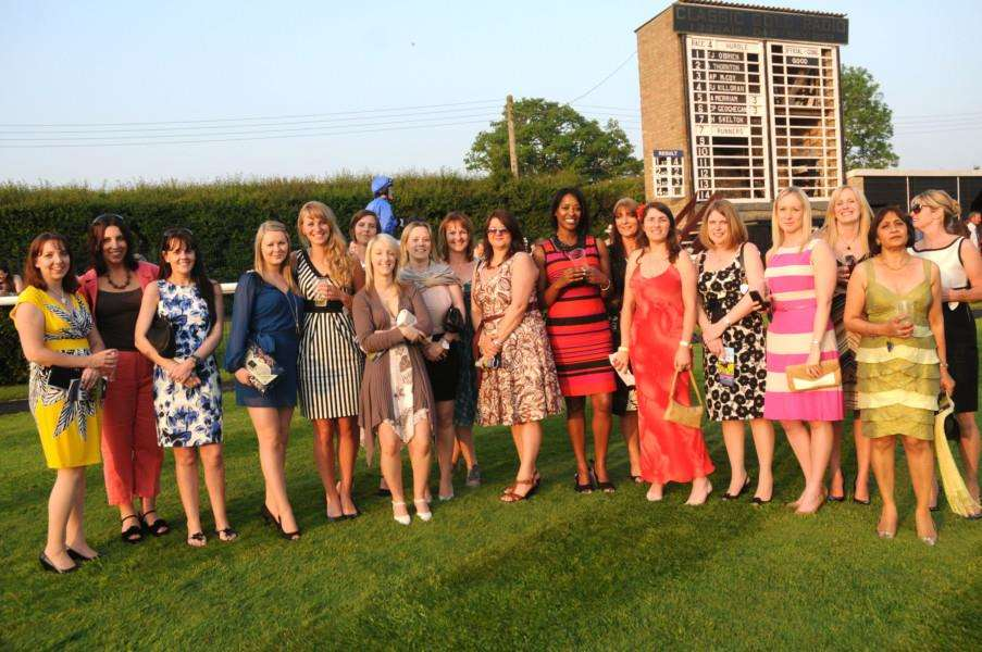 WIN tickets for Ladies Night at Huntingdon racecourse