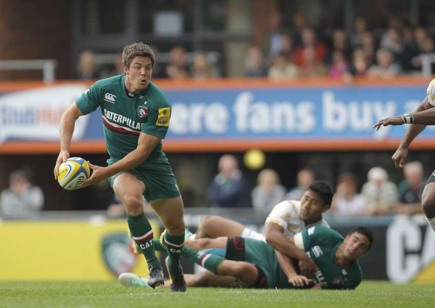 Leicester Tigers centre Anthony Allen is back from injury. Tiger Images ENGEMN00120140113131010