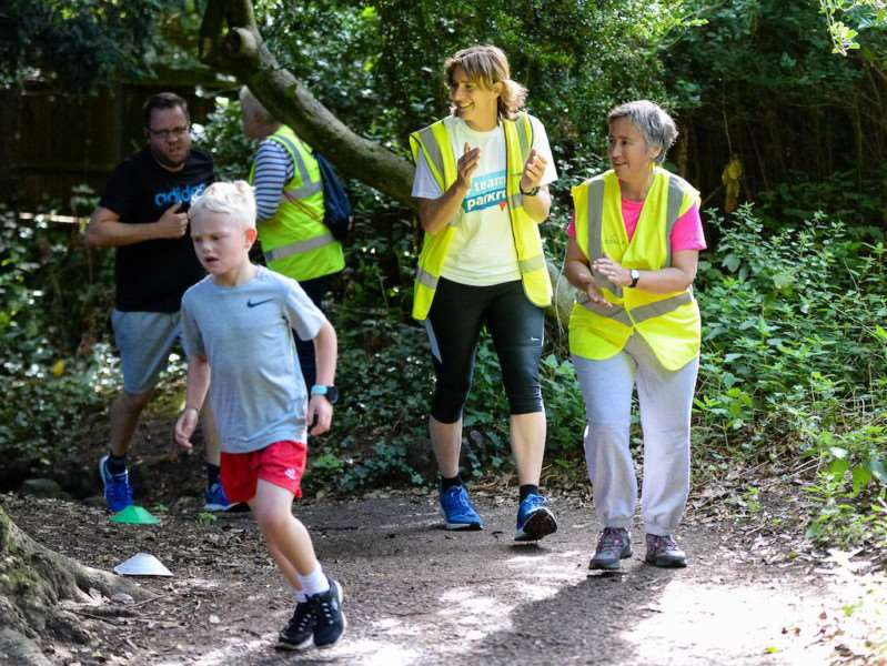 UK Sport chair Dame Katherine Grainger is encouraging the public to take part in #teamparkrun events on August 19, 2017.