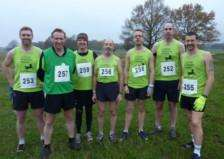 Richard Lomas-Brown joined fellow Halifax and Lloyds Banking Group Colleagues to represent his company at the Inter Financial Services Cross Country National Championships held in Richmond Park London on Wednesday 26th November EMN-140812-094653001