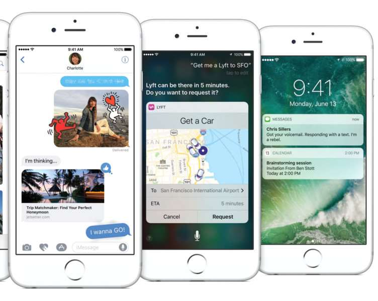 the iOS 10 upgrade will bring a host of improvements when it is released later this year