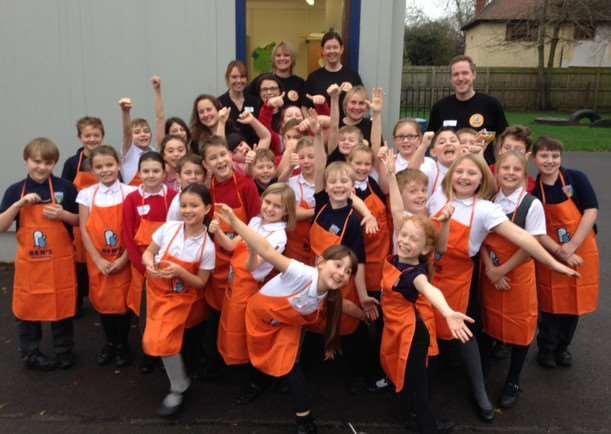 Mars Food UK staff worked with more than 300 pupils including children from Asfordby Hill Primary School's sycamore class. EMN-151222-182301001