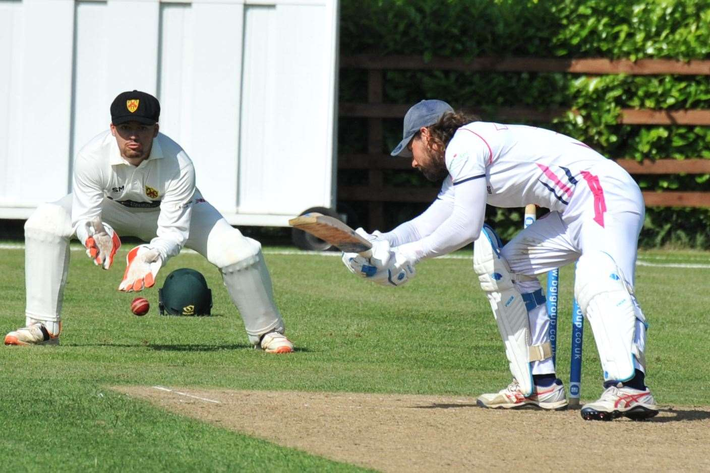Ketton Sports defeated Barkby United 2nds by eight wickets. Photo: Alan Walters (13271065)