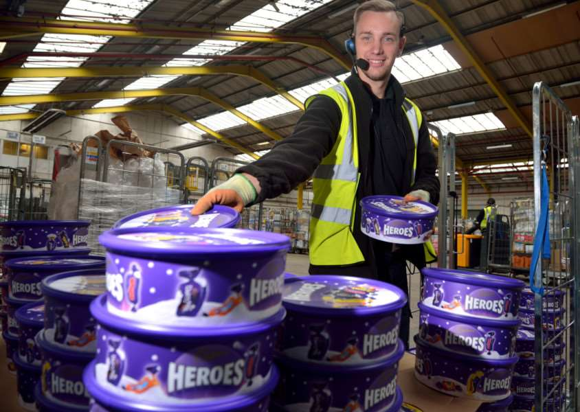 Sales rose over Christmas at the Central England Co-operative stores.