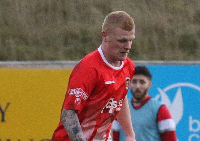 Kieran Wells' first Stamford goal secured the 1-0 victory over Leek Town.