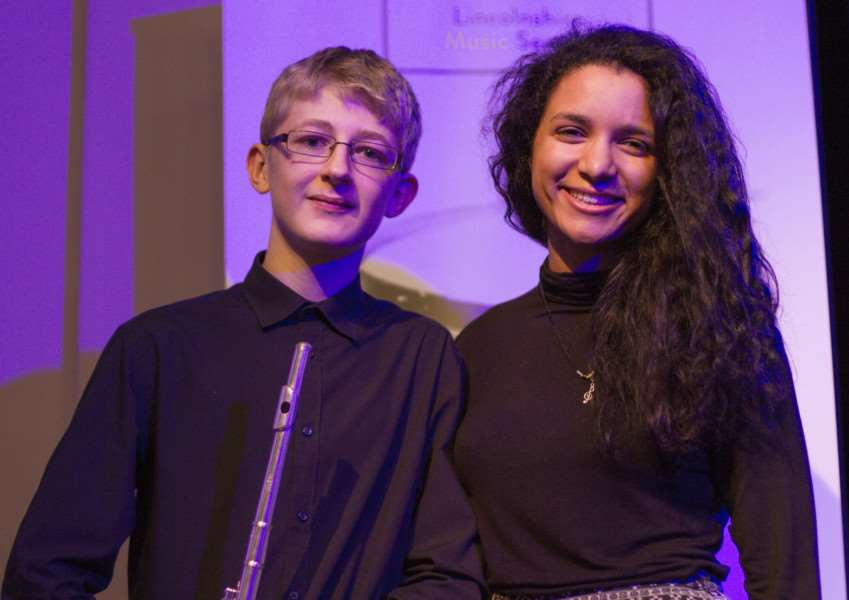 PROM PERFORMANCE: Jacob Webb and Amileah Richards, A-level music and science students at The Deepings School, have been invited to perform at the Music for Youth Schools' Prom at the Royal Albert Hall, London, on November 23.