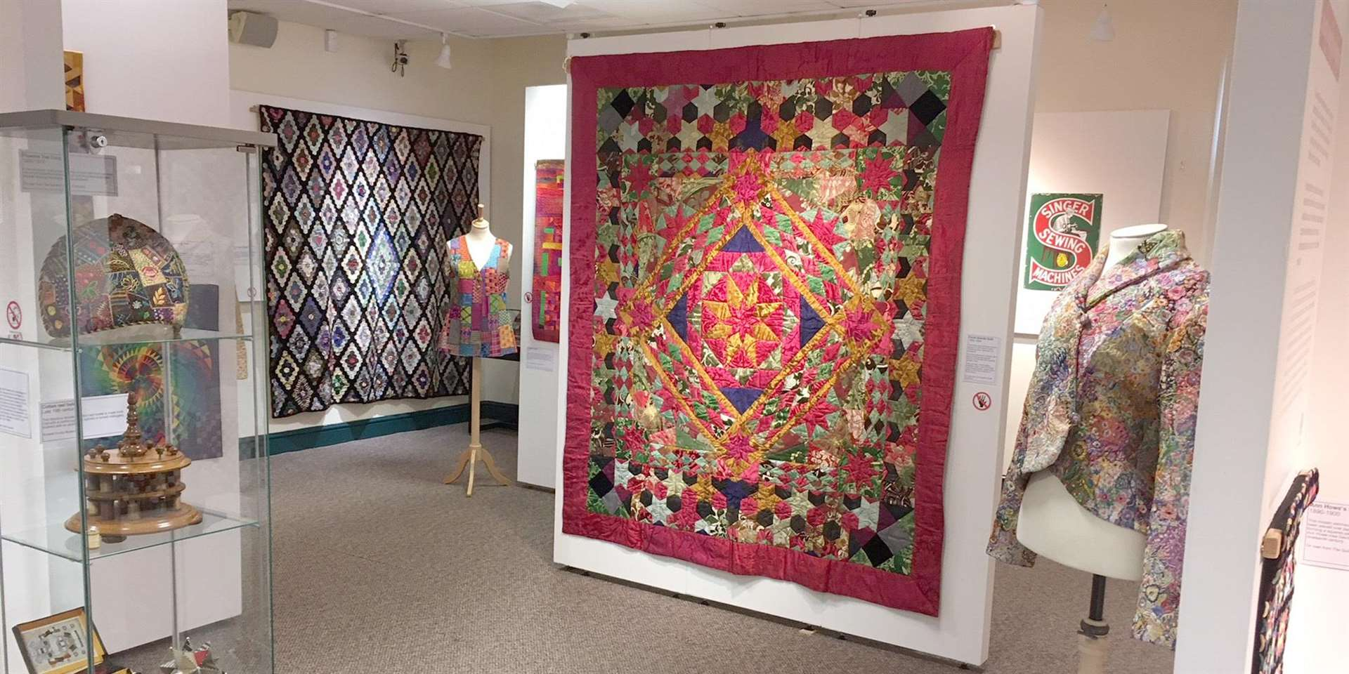 Quilts from The Quilters' Guild Collection is currently being housed by Rutland County Museum (3363520)