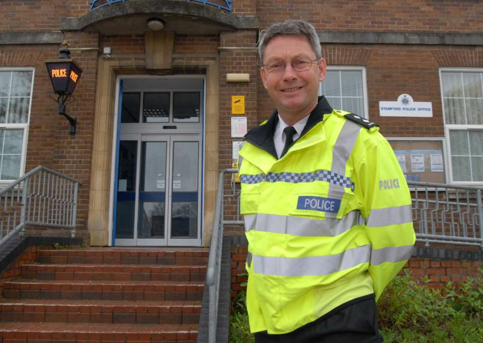 Stamford, Bourne and the Deepings sector inspector Mike Burnett ENGEMN00120130719114141