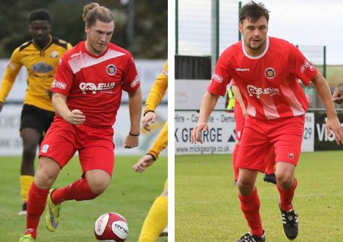 Olly Brown-Hill (left) has rejoined the Daniels while Sam Hill (right) has moved to Peterborough Sports on a permanent basis.