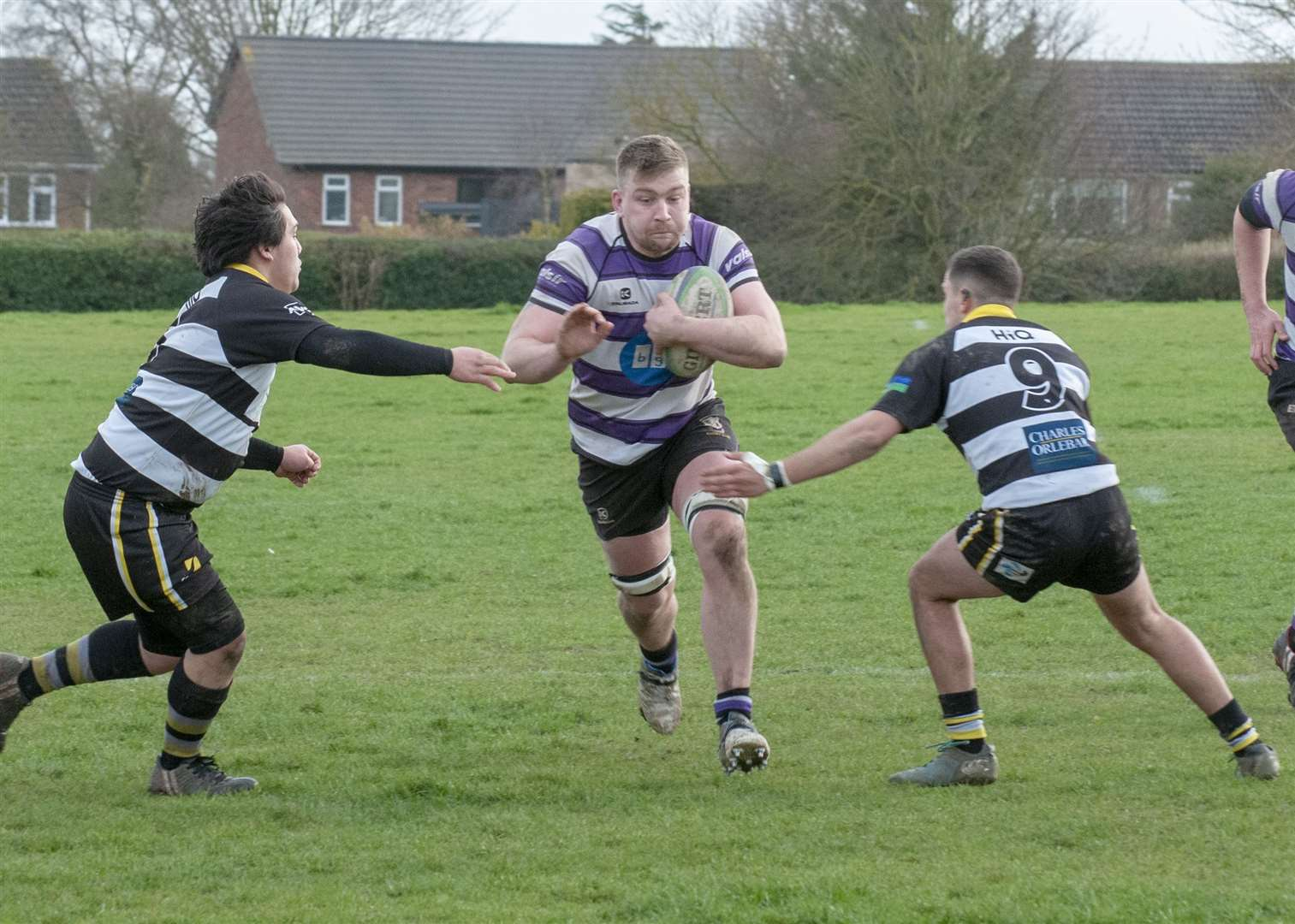 Stamford defeated Rushden & Higham 53-15 on Saturday. Photo: Lee Hellwing (7667480)