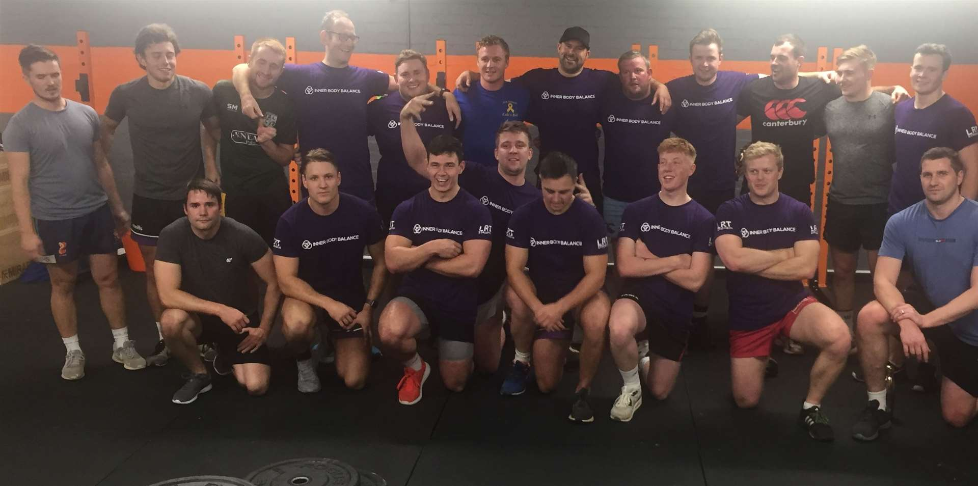 Stamford Rugby players were put through their paces by Fusion 3 Fitness in last season's title-winning campaign.
