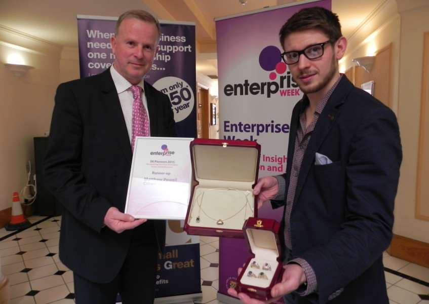 Steve Ingram and Matthew Powell (Crown Jewellers) EMN-150413-181427001