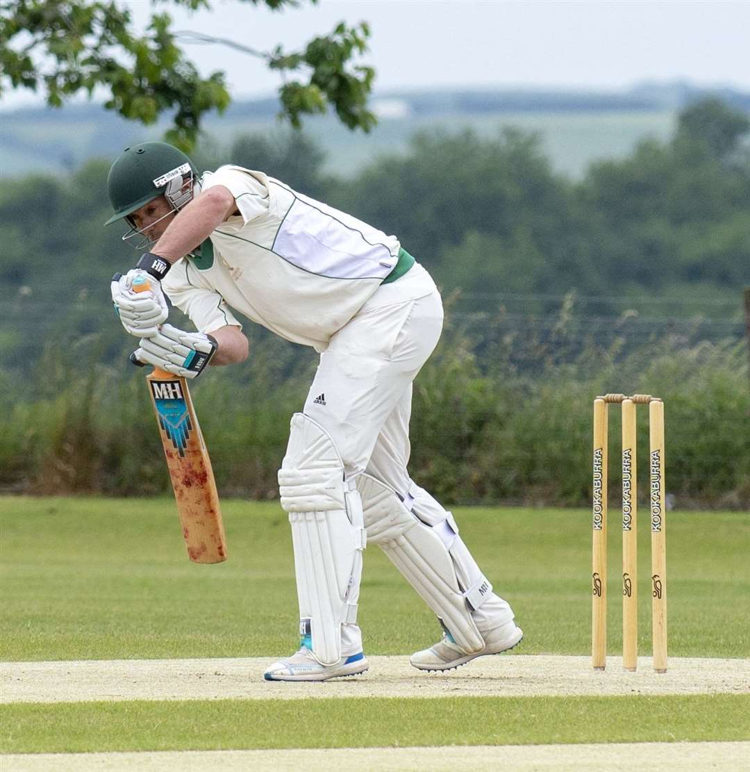 Mark Cox took two wickets and hit 18 runs for Uppingham on Saturday. (15088570)