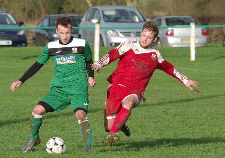 Melton's last home league match against Cottesmore took place at the end of December