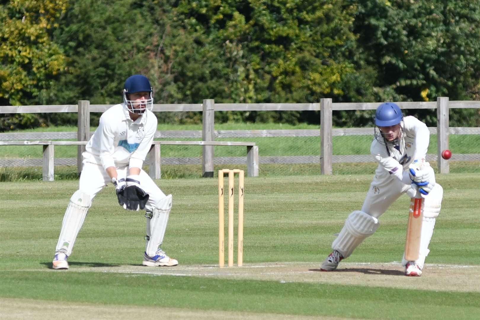 Burghley Park beat Ufford Park to win the Rutland League Division Two title on Sunday. Photo: Alan Walters (16782995)