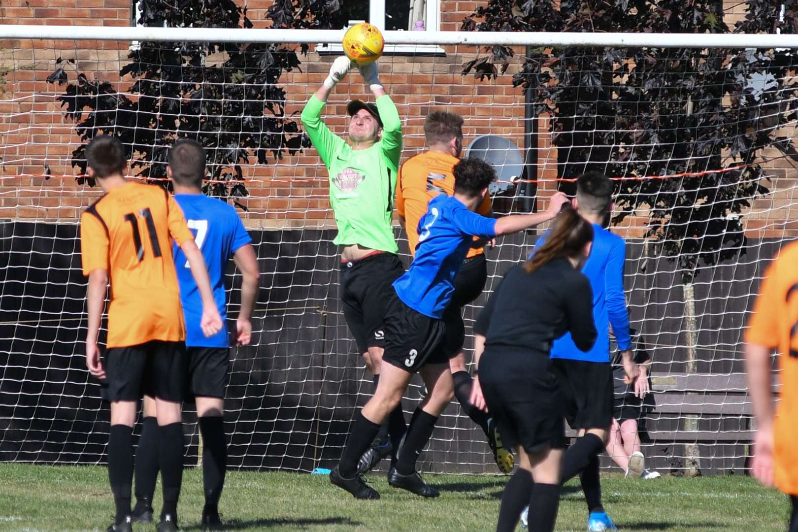 Action from Uppingham's 1-0 home win over Leverington. Photo: Alan Walters (17564291)