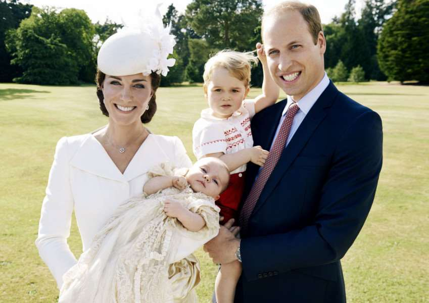 Royal family photos issued following the christening of Princess Charlotte of Cambridge at Sandringham. Copyright: Mario Testino / Art Partner ROYAL_Christening_150834.JPG