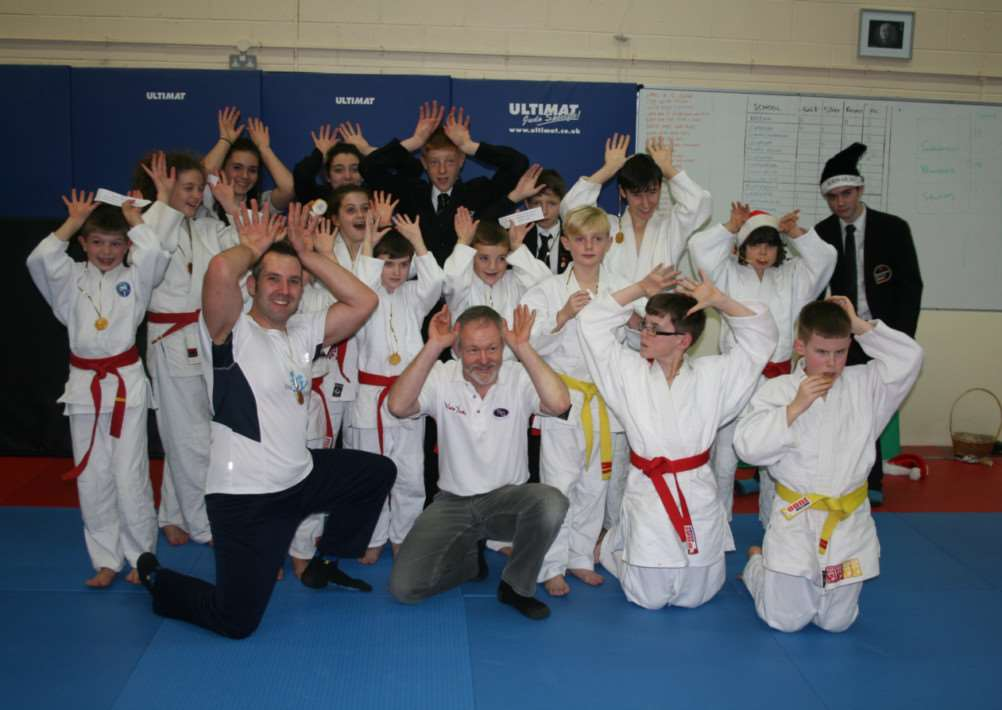 The 11th Vale Judo Christmas Teams Championships took place at the club's new dojo at Oakham Enterprise Park last week EMN-140912-110739001