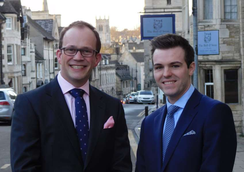 Coun Matthew Lee and Coun Kelham Cooke take on the leadership of the South Kesteven District Council as leader and deputy leader, respectively.