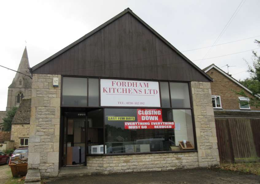 Mark Fordham is closing his kitchen business after decades of trading in Ryhall EMN-160209-115805001