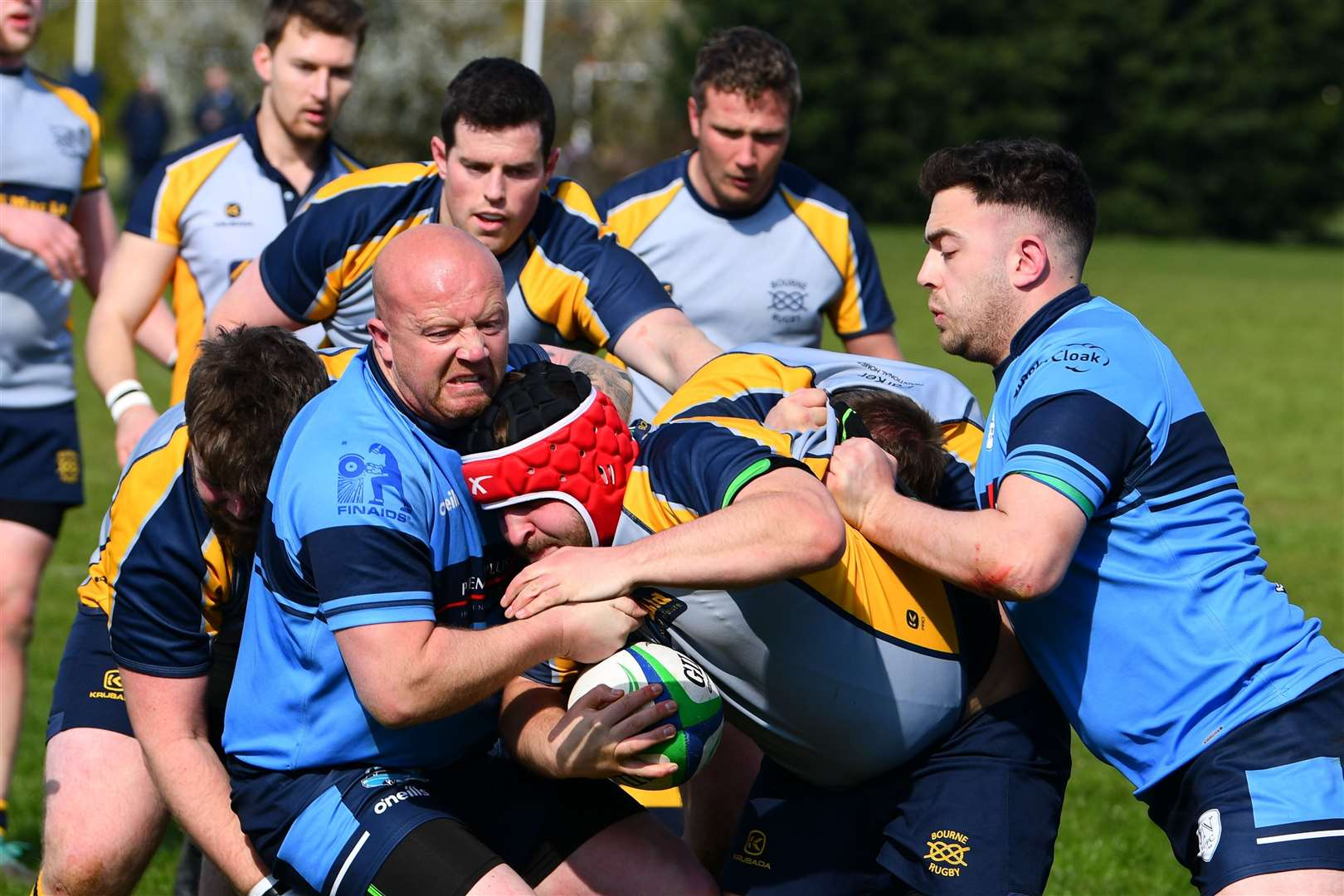 Bourne were 73-7 victors over St Neots on Saturday. Photo: Alan Hancock (8605658)