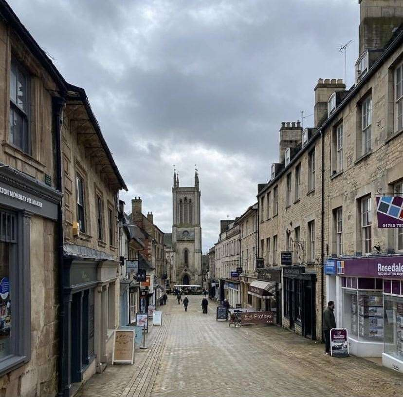Stamford town centre