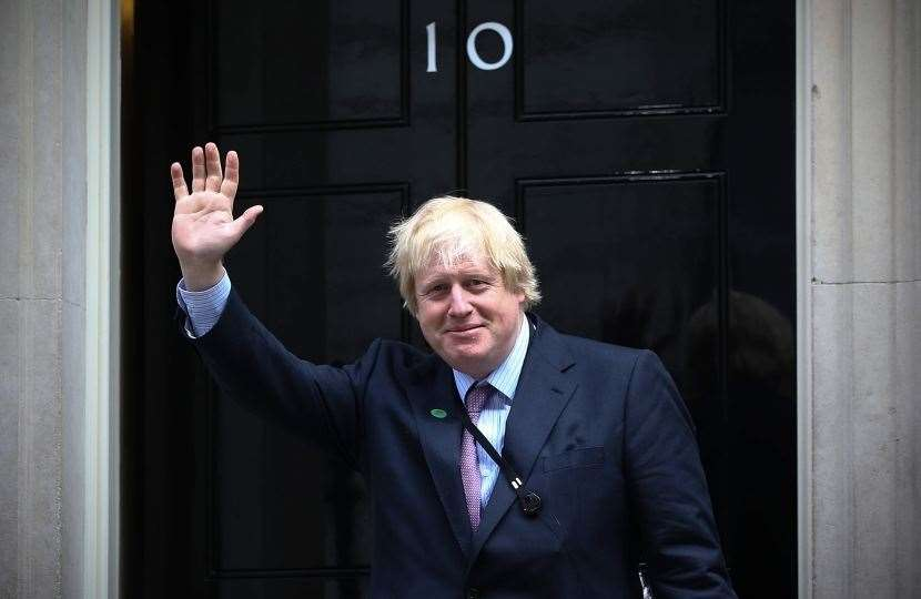 Boris Johnson, the man in the running for No 10, is coming to dinner in Grantham. (11656983)