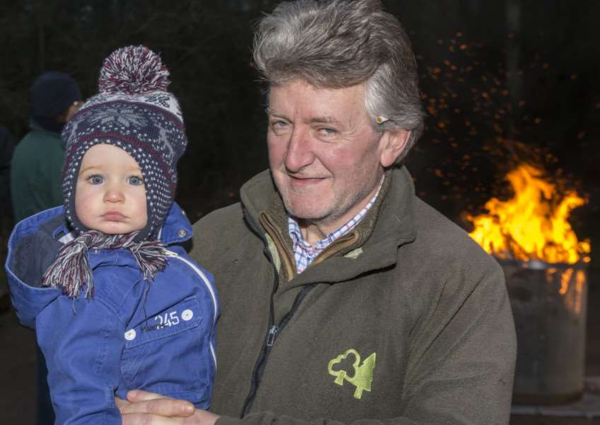 Bourne's first wassailing event at Bourne Community Orchard'Photo: Lee Hellwing