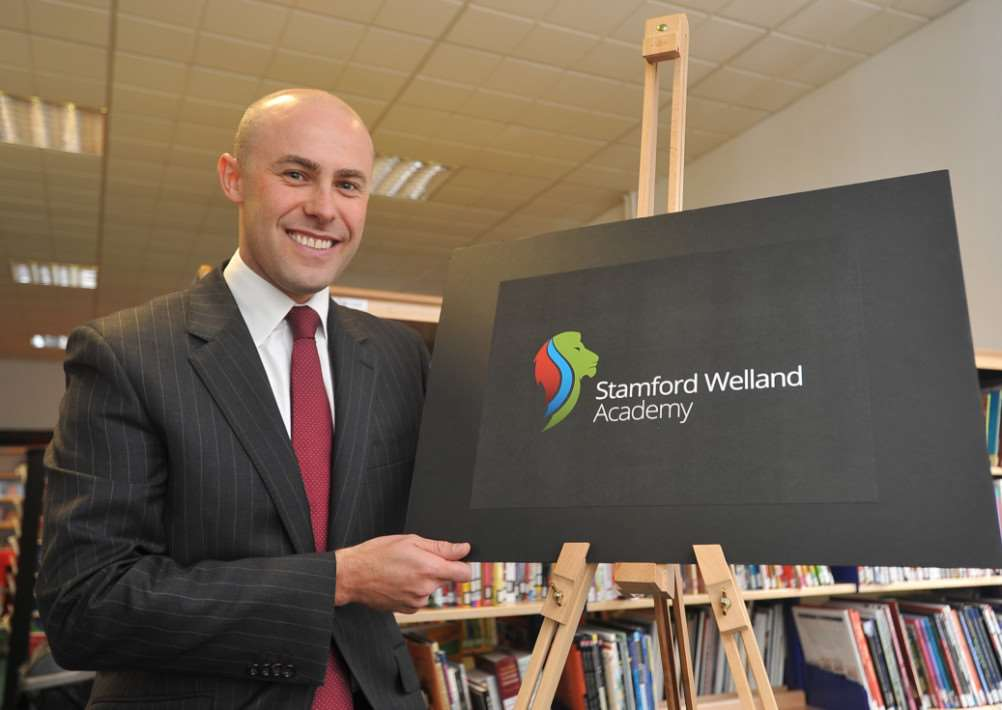 Anthony Partington, principal Stamford Welland Academy EMN-140826-142601009