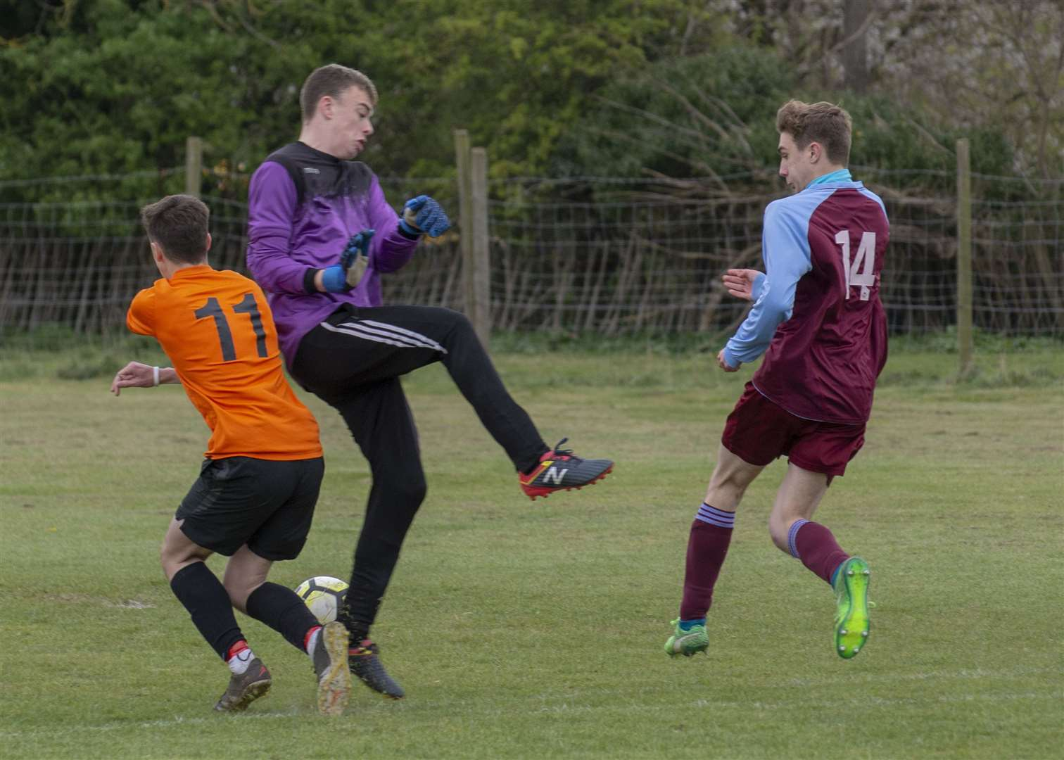 Thurlby Tigers Under 18s were beaten by their Bourne Town Claret counterparts on Sunday. Photo: Lee Hellwing (8765040)